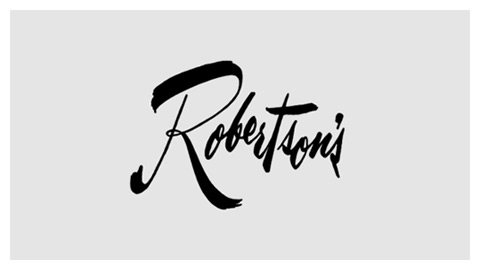 Robertson's Department Store 1960s logo