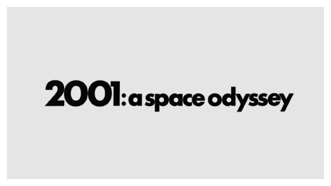 2001: A Space Odyssey (1968) movie poster