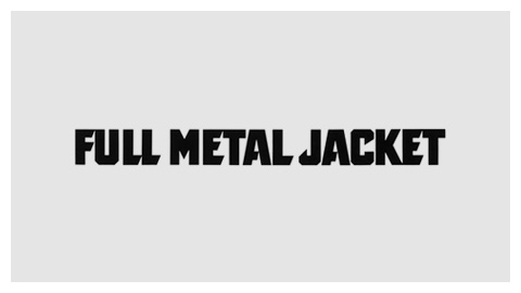 Full Metal Jacket (1987) movie poster