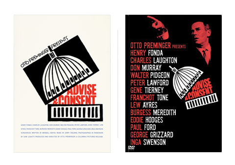 Saul Bass Advise and consent 1962