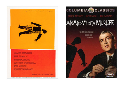 Saul Bass Anatomy of a murder 1959