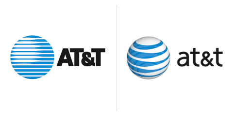 Saul Bass logo AT&amp;T 1986