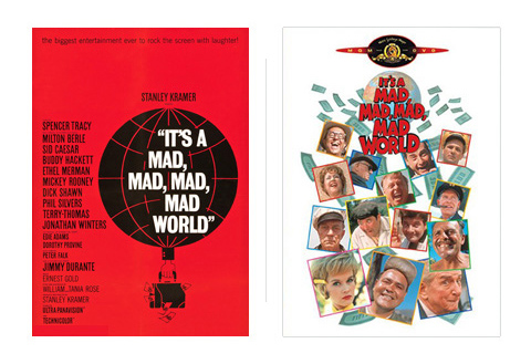 Saul Bass It's a mad, mad, mad, mad world 1963