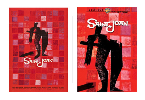 Saul Bass Saint Joan 1957