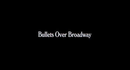 Bullets Over Broadway (1994) Woody Allen - blu-ray movie title