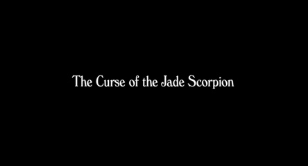 The Curse of the Jade Scorpion (2001) Woody Allen - blu-ray movie title