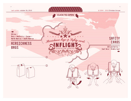 Inflight web design