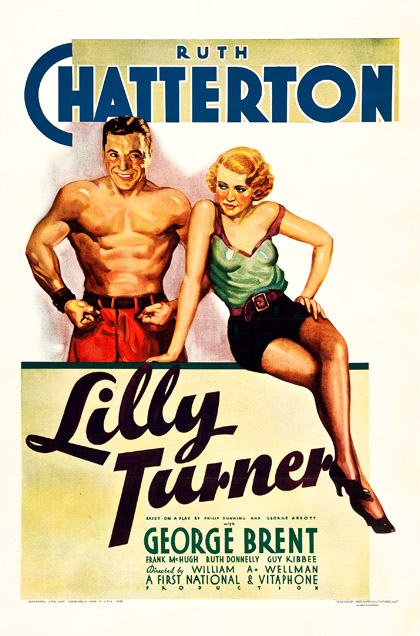 Lilly Turner 1933 one sheet poster