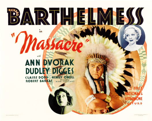 Massacre 1934 half sheet poster