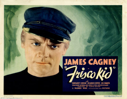 Frisco Kid 1935 title lobby card