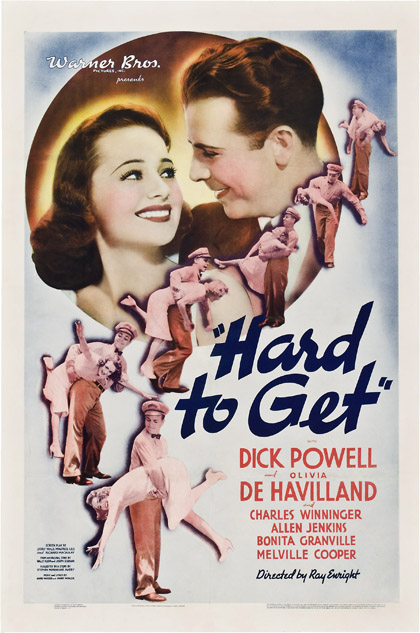 Hard to get 1938 one sheet poster