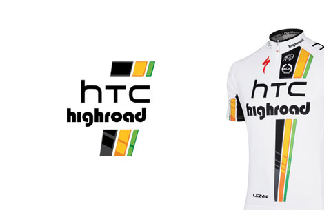 Tour de France 2011 HTC Highroad logo and jersey