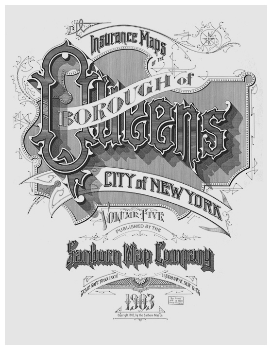 Sanborn Fire Map.The Typography Of Sanborn New York City Maps