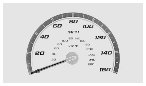 Chevy Cobalt 2008 speed meter