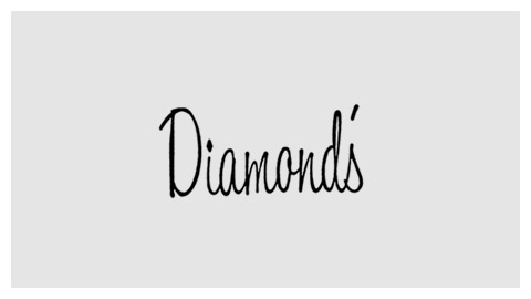 Diamond's wordmark