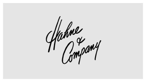 Hahne and Company 1950s wordmark