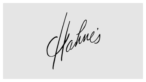 Hahne and Company 1960s wordmark