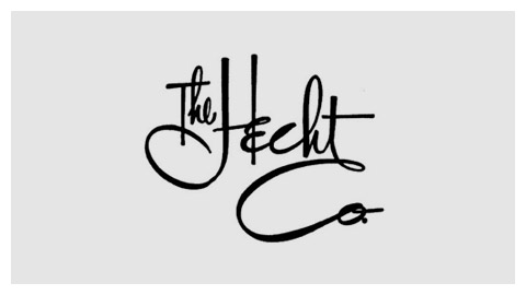 Hecht Co. 1960s handlettered logo
