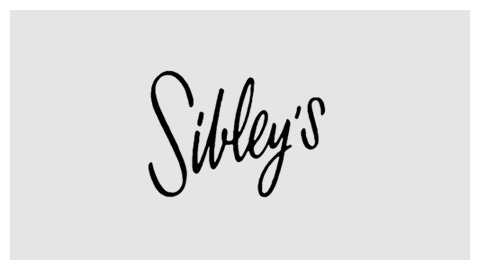 Sibley's 1960s wordmark
