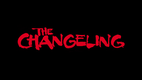 The Changeling 1980 movie poster title lettering