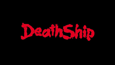 Death ship 1980 movie poster title lettering