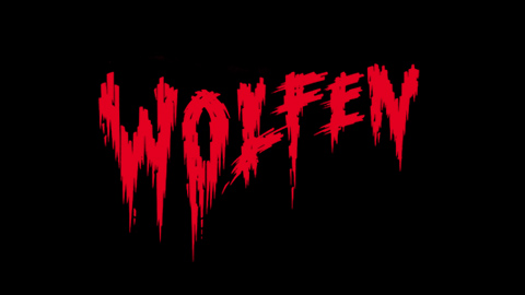 Wolfen 1981 movie poster lettering