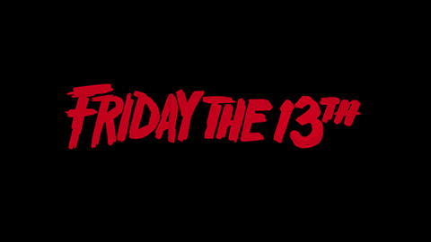 Friday the 13th 1980 movie poster logo
