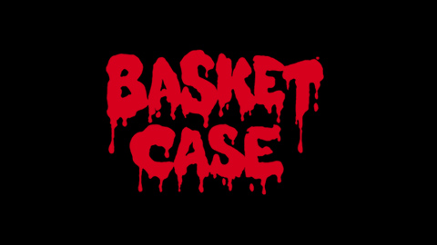 Basket case 1982 movie poster logo