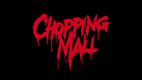 Chopping Mall movie poster logo