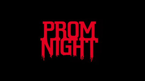 Prom night 1980 movie poster title typography