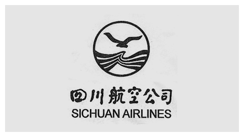 Sichuan Airlines logo 标志