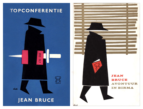Dick Bruna O.S.S. 117 book covers