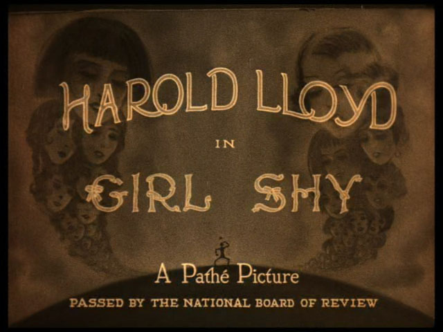 Girl shy 1924 movie title