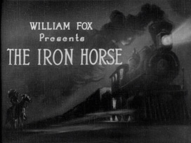 The Iron Horse (1924) blu-ray movie title