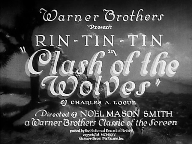 Clash of the Wolves 1925 movie title