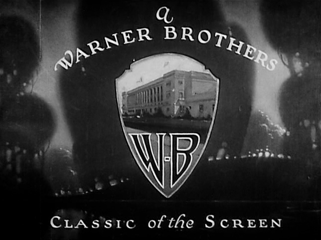Warner Bros. logo 1925 Clash of the Wolves