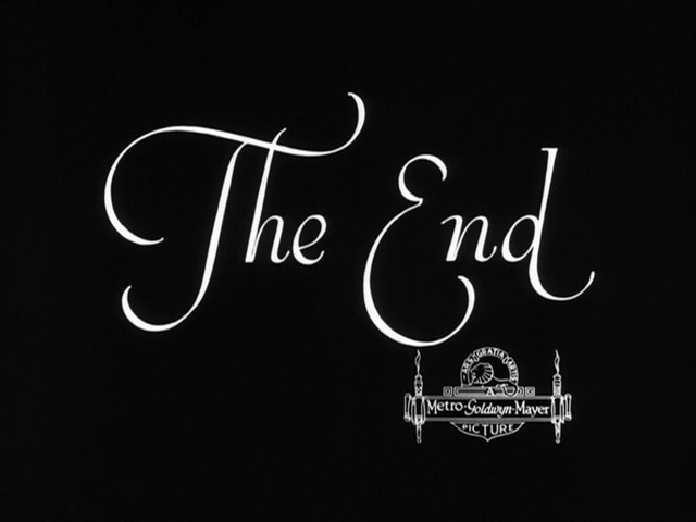 The champ movie end title