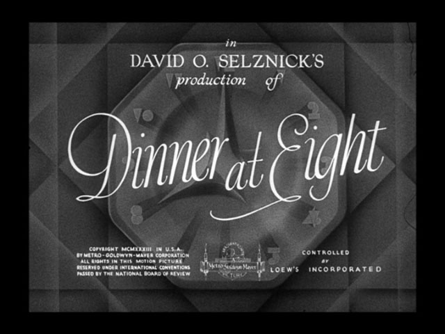 Dinner at eight 1933 movie title