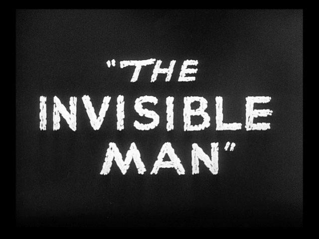 The invisible man 1933 movie title