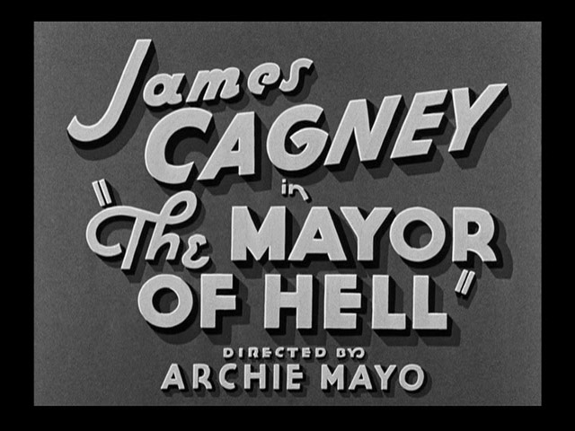 The Mayor of Hell 1933 movie title