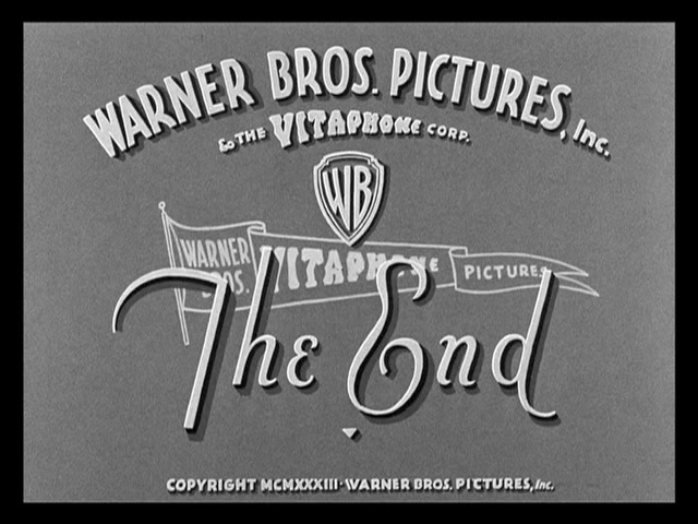 Picture Snatcher movie end title
