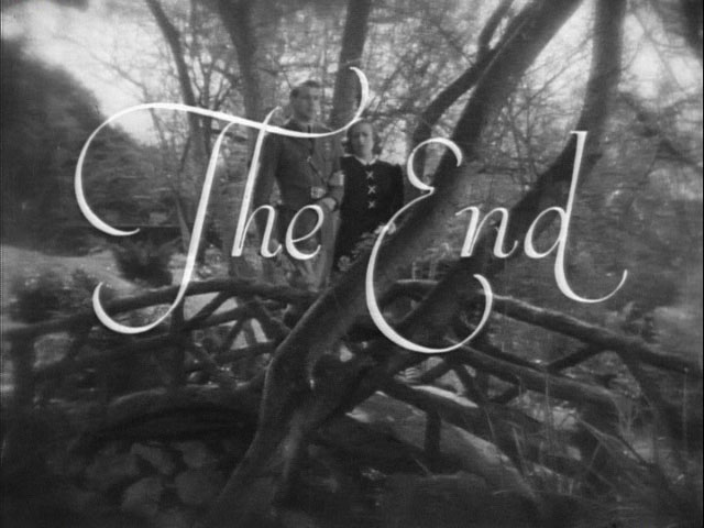 Today we live movie end title