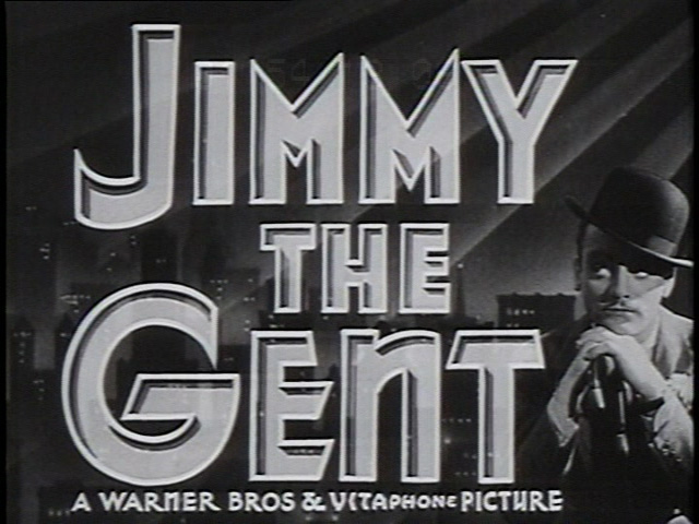 Jimmy the Gent movie trailer title