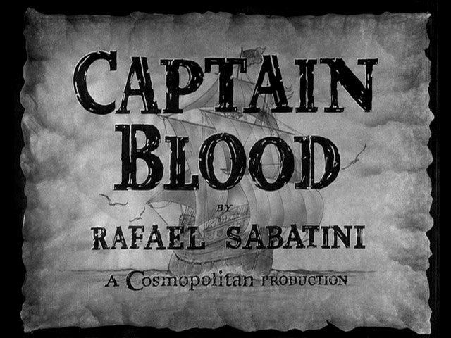 Captain Blood 1935 Michael Curtiz Errol Flynn Olivia De Havilland