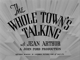 The Whole Town's Talking (1935) blu-ray movie title