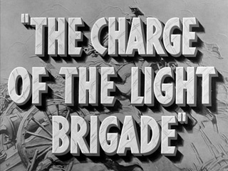 The Charge of the Light Brigade (1936) movie title
