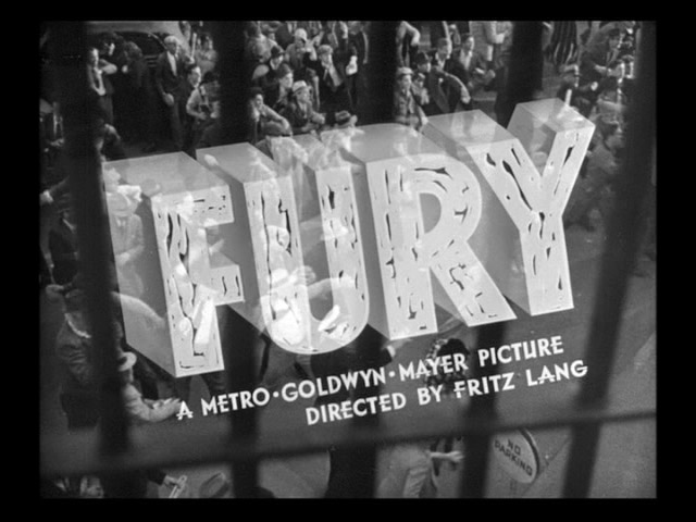 Fury movie trailer title screen shot