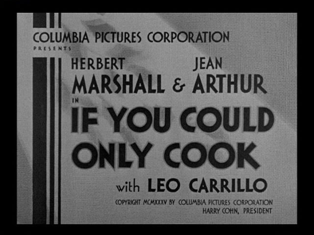 movie if only you could cook