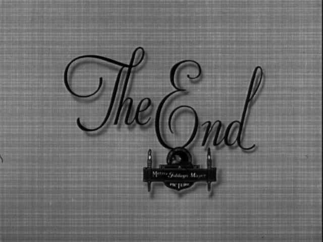 Libeled lady movie end title