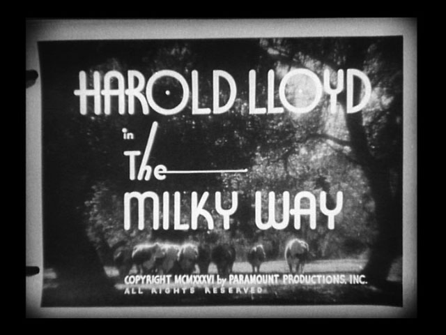 The milky way 1936 movie title